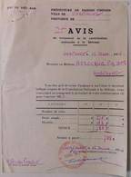 INDOCHINE / VIETNAM . CONTRIBUTION NATIONALE A LA DEFENSE . HAIPHONG . 1954 . ETAT DU VIETNAM - Historical Documents