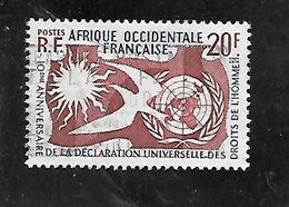 TIMBRE OBLITERE D'AFRIQUE OCCIDENTALE DE 1958 N°MICHEL 102 - Used Stamps