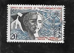 TIMBRE OBLITERE D'AFRIQUE OCCIDENTALE DE 1959 N°MICHEL 103 - Used Stamps