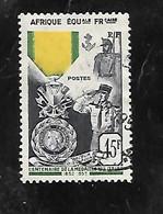 TIMBRE OBLITERE D'AFRIQUE EQUATORIALE DE 1952 N°MICHEL 288 - Used Stamps