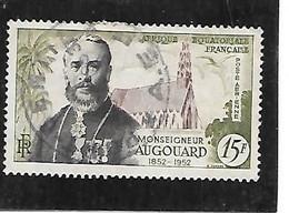 TIMBRE OBLITERE D'AFRIQUE EQUATORIALE DE 1952 N°MICHEL 289 - Used Stamps