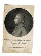GENT - Monseigneur Maurice Jean Magdeleine De BROGLIE - Bisschop Van Gent  - (Franstalig) - Imágenes Religiosas
