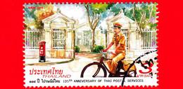 TAILANDIA - THAILAND - Usato - 2018 - 135 Anni Del Servizio Postale Thailandese - 3 - Tailandia
