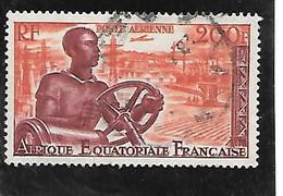 TIMBRE OBLITERE D'AFRIQUE EQUATORIALE DE 1955 N°MICHEL 295 - Used Stamps