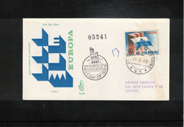 San Marino 1963 Europa Cept Michel 781 FDC - FDC
