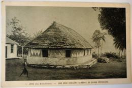 C. P. A. : WALLIS ET FUTUNA : LANO, Une Case Indigène Servant De Grand Séminaire - Wallis And Futuna