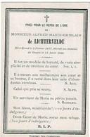 GAND / GAGES (Château) - Alfred Marie De LICHTERVELDE - °1813 Et + Au Château 1880 - Imágenes Religiosas