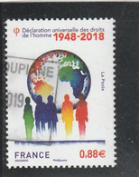 FRANCE 2018 DECLARATION DES DROITS DE L HOMME 1948- 2018 OBLITERE YT 5290 - Used Stamps