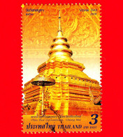 TAILANDIA - THAILAND - Usato - 2018 - Festa Del Vesak - Stupas - Architettura - Templi - 3 - Tailandia