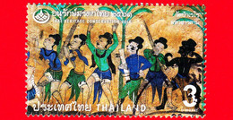 TAILANDIA - THAILAND - Usato - 2018 - Giornata Conservazione Patrimonio - Belle Arti - Heritage - 3 - Tailandia