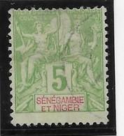 Sénégambie & Niger N°4 - Oblitéré - TB - Used Stamps