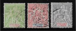 Sénégambie & Niger N°4/6 - Oblitéré - TB - Used Stamps