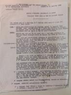 INDOCHINE / VIETNAM .  ENQUETE CONCERNAT UN JEUNE EURASIEN . 1955 .SAIGON - Historical Documents