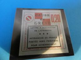 TIMBRE DE GREVE   PARIS  INVALIDE  N°17 - Strike Stamps