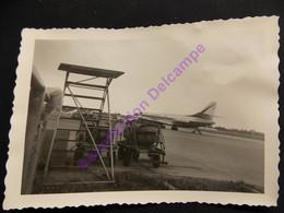 Photo Originale Amateur Caravelle D'Air France Sur Le Tarmac - Luftfahrt
