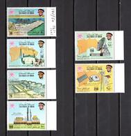 OMAN    N° 145 à 150  NEUFS SANS CHARNIERE   COTE 27.50€   INDUSTRIE PORT STADE  ESPACE TELECOMMUNICATIONS - Oman