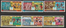 """COMORES - N°241/4+PA ** (1978) Football """"Argentina'78"""" Vainqueurs - Comoros"""