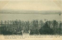 CRUE DU CHER - JOUE LEZ TOURS - 21 AU 31 JANVIER 1910 - Otros Municipios