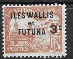 1927 Wallis Et Futuna Nc Mh * 20 Euros Taxe / Postage Due - Postage Due