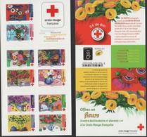 """FRANCE / 2018 / Y&T N° AA 1548/1557 ** BC1548 ** Ou CR2062 ** : """"Croix-Rouge"""" Offrez Ces Fleurs - Rotes Kreuz"""