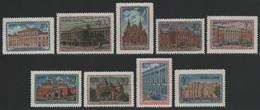 Russia / Sowjetunion 1950 - Mi-Nr. 1450-1458 ** - MNH - Moskauer Museen (II) - Nuovi