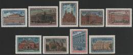 Russia / Sowjetunion 1950 - Mi-Nr. 1450-1458 ** - MNH - Moskauer Museen (III) - Nuovi