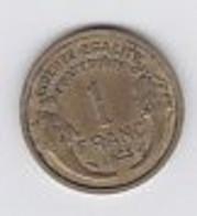 1fr Morlon Cupro Aluminium 1935 - H. 1 Franco