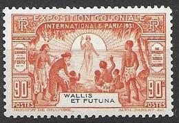 1931 Wallis Et Futuna Nc Mh * 12 Euros - Unclassified