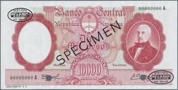 Argentina / Argentinien: Banco Central De La República Argentina 10.000 Pesos ND(1961-69) SPECIMEN, - Argentina