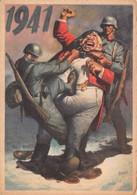 """02268 """"1941 - P.N.F. DOPOLAVORO FORZE ARMATE O.N.D. - OGGI VADO DAL DENTISTA"""" ANIMATA. FIRMATA BOCCASILE. CART NON SPED - Other"""