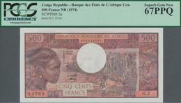 Congo / Kongo: Banque Centrale Des États Del'Afrique Centrale - République Populaire Du Congo 500 Fr - Sin Clasificación