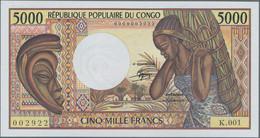 Congo / Kongo: Banque Centrale Des États Del'Afrique Centrale - République Populaire Du Congo 5000 F - Sin Clasificación