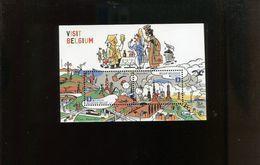 Belgie 2012 Blok Feuillet BL198 Europa CEPT TINTIN BD COMICS Strips Atomium Expo  MNH - Blokken 1962-....