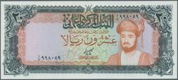 Oman: 20 Rials ND P. 29b In Crisp Original Condition With Original Colors, Condition: UNC. - Oman