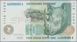 South Africa / Südafrika: Suid-Afrikaanse Reserwebank, Set Of 5 Specimen Banknotes 1992-1999 Series - Suráfrica