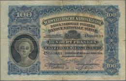 Switzerland / Schweiz: Nice Lot With 7 Banknotes 100 Franken Dated 1924, 1927, 1928, 1931, 1940, 194 - Switzerland