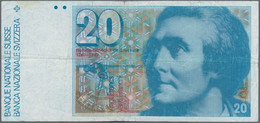 Switzerland / Schweiz: Nice Set With 7 Banknotes 20 Franken, Dated 1980, 1981, 1982, 1987 And 1990, - Switzerland