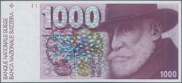 Switzerland / Schweiz: 1000 Franken 1993, P.59f In Perfect UNC Condition. - Switzerland