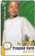 Malawi - MTL - Keep Talking - Boy With White Shirt, Exp. 28.03.2006, Remote Mem. 240Mk, Used - Malawi