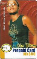 Malawi - MTL - Keep Talking - Girl With Glasses, Exp. 07.01.2005 , Remote Mem. 600Mk, Used - Malawi
