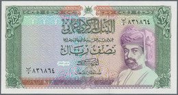 Oman: Very Nice Lot With 237 Banknotes Containing 76x 200 Baisa P.23c, 28x ½ Rial P.25, 30x ½ Rial P - Oman