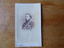Le Prince De Galles  10 Eme Regiment De Hussards Vers 1860 Par Photographe Russe - Antiche (ante 1900)