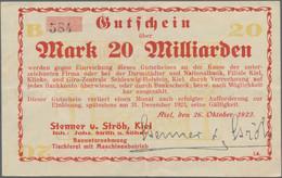 Deutschland - Notgeld - Schleswig-Holstein: Schachtel Mit Geldscheinbestand Aus Dem Hohen Norden. En - [11] Local Banknote Issues