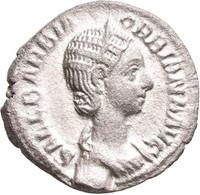 Orbiana, Gattin Des Severus Alexander: Denar, Rom. Drapierte Büste Mit Diadem Nach Rechts, SALL BARB - 5. The Military Crisis (235 AD To 284 AD)