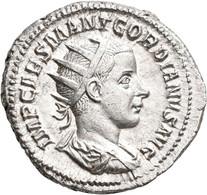 Gordianus III. (238 - 244): Antoninian, Rom. Büste Mit Strahlenkrone, IMP CAES MANT GORDIANVS AVG / - 5. The Military Crisis (235 AD To 284 AD)