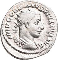 Gordianus III. (238 - 244): Antoninian, Rom. Büste Mit Strahlenkrone, IMP GORDIANVS PIVSFEL AVG / So - 5. The Military Crisis (235 AD To 284 AD)