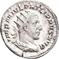 Philippus I. Arabs (244 - 249): Antoninian, Rom. Drapierte Büste Mit Strahlenkrone Nach Rechts, IMP - 5. The Military Crisis (235 AD To 284 AD)