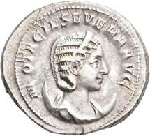 Otacilia Severa (+ 249 N.Chr.): Antoninian, Rom. Büste Mit Diamen Auf Mondsichel Nach Rechts, M OTAC - 5. The Military Crisis (235 AD To 284 AD)