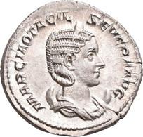 Otacilia Severa (+ 249 N.Chr.): Antoninian, Rom, 245. Drapierte Büste Mit Diadem Auf Mondsichel Nach - 5. The Military Crisis (235 AD To 284 AD)