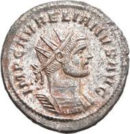 Aurelianus (270 - 275): Antoninian, Siscia, 274-275. Büste Mit Strahlenkrone Nach Rechts, IMP C AVRE - 5. The Military Crisis (235 AD To 284 AD)